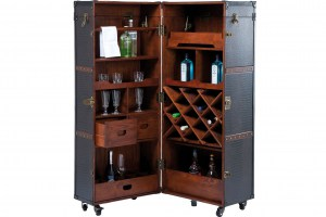 Wardrobe-suitcase bar Colonial, Colonial style in the Shopping center Armada1